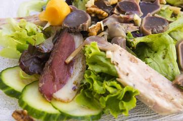 Salade campagarde