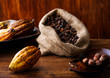 Cacao beans and crops