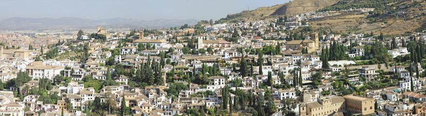 Albaicin panoramic view - Sacromonte -  Granada - Espana