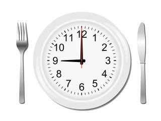 Mahlzeit um 9, 21 Uhr
