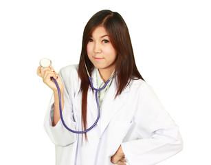 healty woman doctor