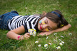 rêverie dans l'herbe