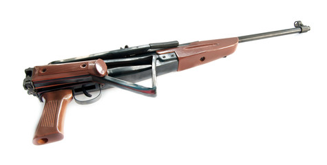 pneumatic air rifle