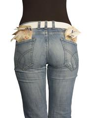 Tasche piene di soldi