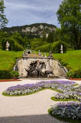 Fontana del Nettuno, Linderhof Germania 1