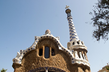 parc guell casa del guardiano