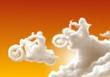 nuvole bikers