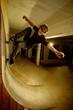 Skater doing a trick