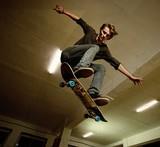 Fototapety Skater jumping