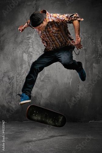 Plakat Skater doing a trick