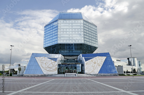 National library in Minsk, Belarus