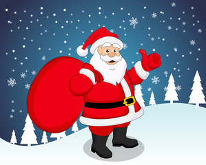 Santa Claus, illustration