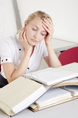Stress im Büroalltag