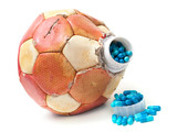 Football doping poster