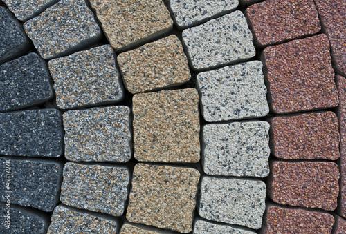 pattern on the pavement - 45317978