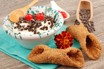 CANNOLI INGREDIENTI E RICOTTA