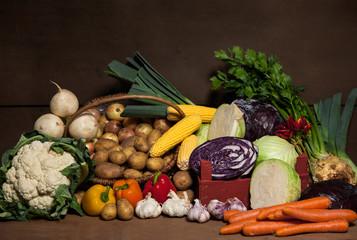 Farmer's Market - Organic Vegetables