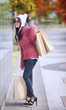 Shopping girl