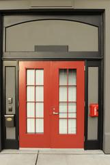 porta rossa