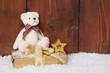 Weihnachten und der Teddybär