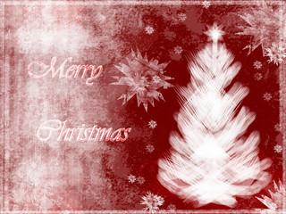 Felicitación de Navidad, postal, grunge, abstracto.