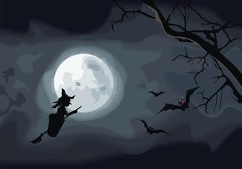 Night. Halloween