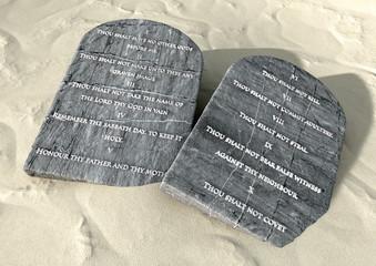 Ten Commandments In The Desert