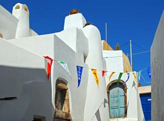 Auf Santorini