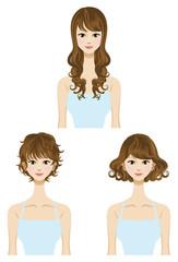 Perm,hair style set