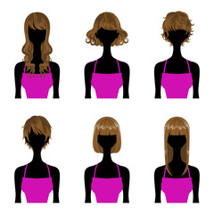 Hairstyle set