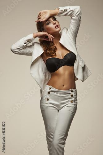 Sexy lady posing