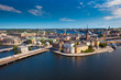 Panorama of Stockholm city