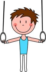 Gymnaste garçon