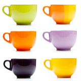 Fototapety Colored cups set