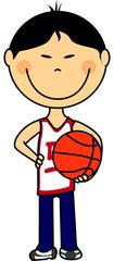 basket garçon