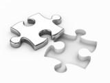 Fototapete Konzept - Puzzlespiel - Andere