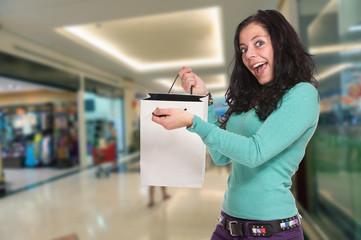 Enthusiastic shopper