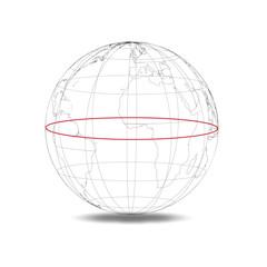 Globus Äquator