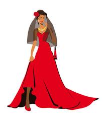 Carmen, woman, spanish woman, fiancee
