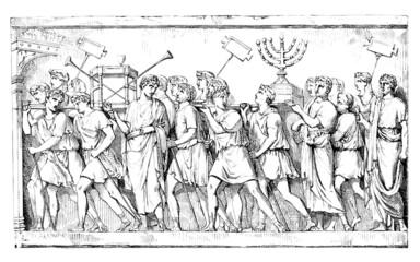 Romans plundering Jerusalem's Temple - Antiquity