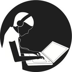 Laptop-Nutzer
