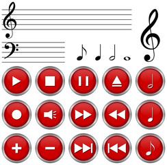 Vector Set Musik & Radio