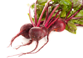 Beet , Beetroot on a white background