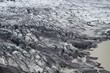 Skaftafellsjokull glacier moraine, Skaftafell NP, Iceland