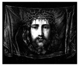 Christus Face - St Veronica Cloth - Portrait