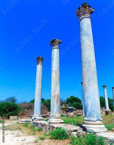 Ruins of Salamis near Famagusta