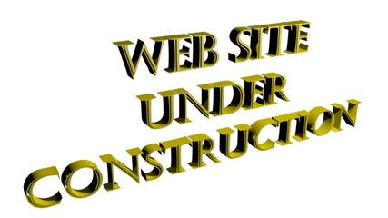 Web Site Under Construction - In costruzione