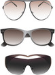 Sunglasses set for men. Vector
