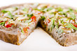 raw food quiche