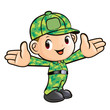Welcomed the vigorous soldier character. Sailor Character